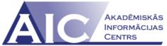 AIC - Akadēmiskās informācijas centra logo