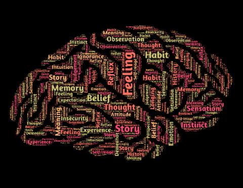 Piktogramma - smadzeņu forma, kas sastāv no vārdiem