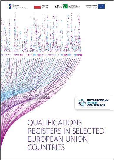 """Publikācijas """"Qualifications Registers in Selected European Union Countries"""" vāka ekrānšāviņš"""